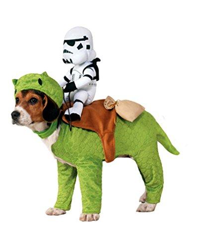 Dewback mit Stormtrooper Hundekostüm