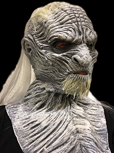 Game of Thrones White Walker Maske Deluxe aus Latex