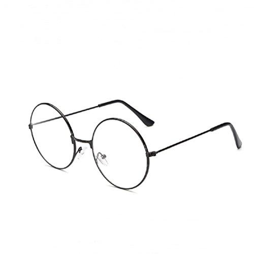 Harry Potter Brille Vintage Runde Brille Klare Linse Brille ohne Stärke