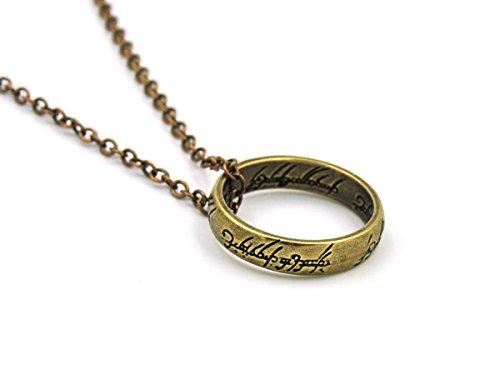 Herr der Ringe Halskette mit Ring Anhänger