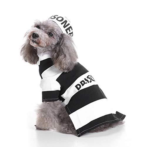 HERSITY Hundekleidung Gefangene für Kleinen Hund