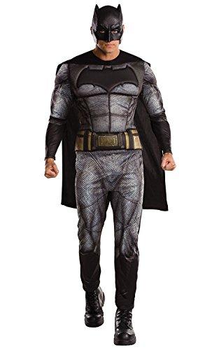 DC Warner Bros Justice League Batman Kostüm für Erwachsene