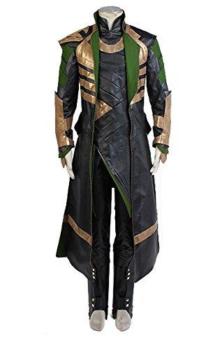 Marvel Thor The Dark World Loki Set Cosplay Kostüm Herren