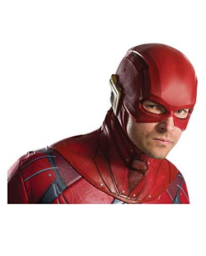 DC The Flash Latex Maske für Flash Kostüm