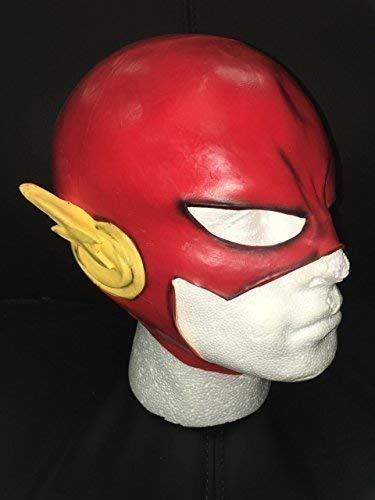 DC The Flash Latex Maske