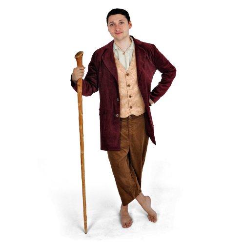 HdR Halblingskostüm – 3-teiliges Deluxe Komplett Kostüm, ideal als Hobbit-Verkleidung