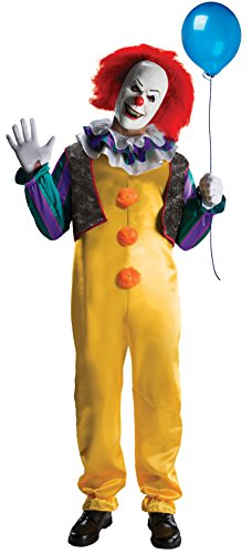 Deluxe Kostüm Pennywise Clown–ES