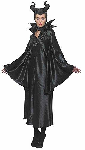 Maleficient-Damenkostüm, Offizielles Kostüm für Erwachsene zum Disney-Film