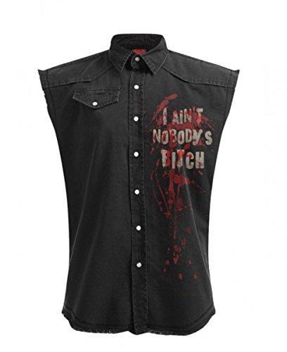 The Walking Dead Daryl Gothic Hemd Workshirt