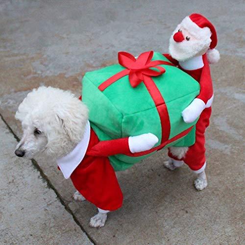 Weihnachten Hundekostüm, XXL